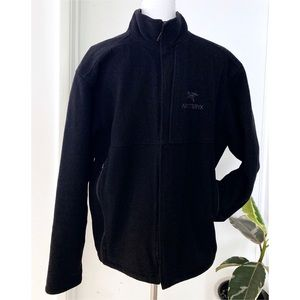 ARC'TERYX Dark Gray Full Zip Performance Jacket L